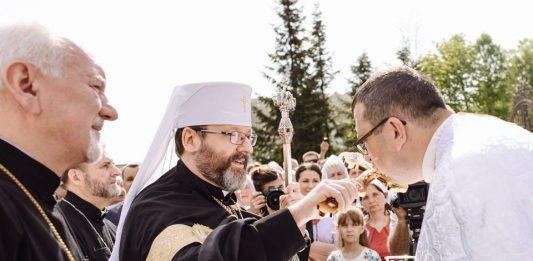 Блаженніший Святослав Шевчук у Старуні