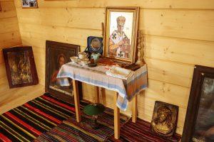 Експозиція музею «Блаженного свщмч. Симеона Лукача та підпільної УГКЦ» у с.Старуня