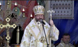 Проповідь блаженнішого Святослава у Старуні